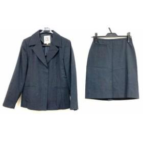 ミッシェルクラン MICHELKLEIN スカートスーツ サイズ38 M レディース ダークグレー【中古】