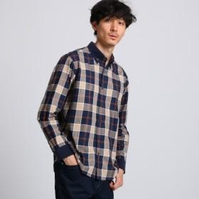 [マルイ] クレリックチェックシャツ/タケオキクチ(TAKEO KIKUCHI)
