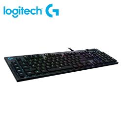 【Logitech 羅技】G813 Clicky RGB 機械遊戲鍵盤 (薄型 GL 按鍵軸/矮軸青軸手感)