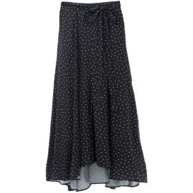 SALE 【34%OFF】 31 Sons de mode トランテアン ソン ドゥ モード ドットサテンフィッシュテールスカート 【WEB限定】ブラック