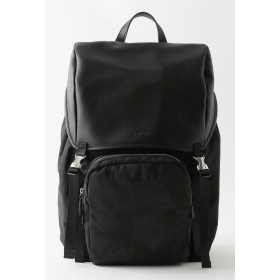 LOVELESS 【Safari10月号掲載】カモフラ コンビ バックパック リュック・バッグパック,ブラック