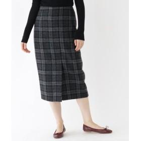 DRESSTERIOR / ドレステリア ウールチェックタイトスカート
