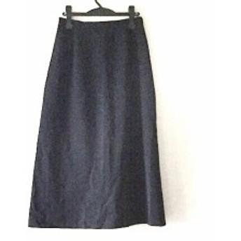バーバリーロンドン Burberry LONDON ロングスカート サイズ13 L レディース 黒【中古】