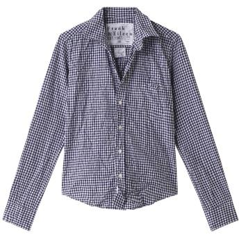 Frank&Eileen フランク&アイリーン 【10 YEAR HERITAGE COLLECTION】BARRY ギンガムチェックシャツ ネイビー