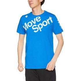 [デサント] デオダッシュ コットンTシャツ 高速消臭 MOVESPORT DMMNJA53 BL O