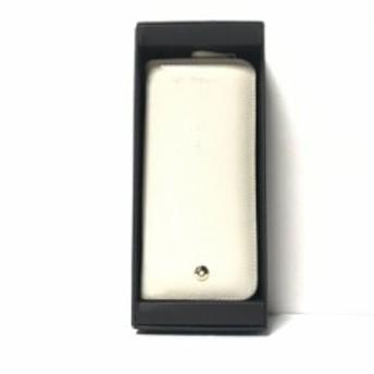 new style 70a35 84012 モンブラン MONTBLANC ペンケース レディース 美品 黒 レザー ...