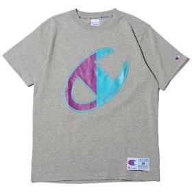 アトモス チャンピオン ティーシャツ メンズ グレー L 【atmos】