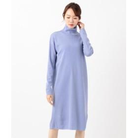 (ICB/ICB)Fine Wool ワンピース/レディース サックスブルー系