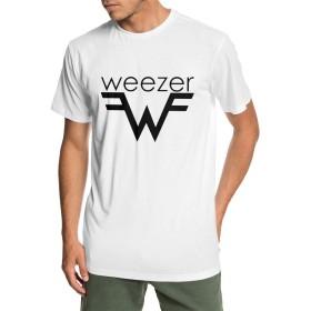メンズ 綿 半袖 野球 Tシャツ Weezer ウィーザー スポーツ服 吸汗速乾 クルーネック 丸首 軽い 柔らか ブラックホワイトラグラン 野球 トップス半袖 ブラウストップス