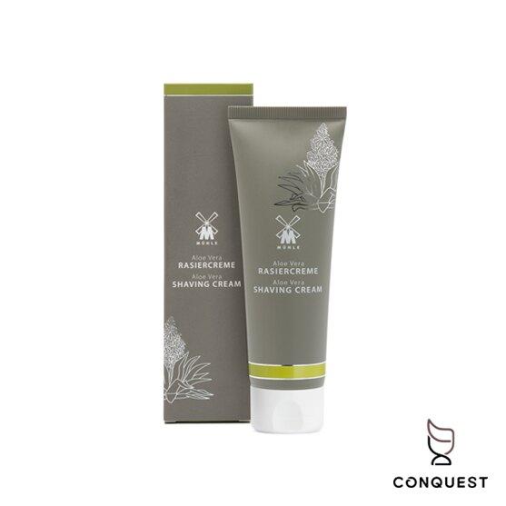 【 CONQUEST 】德國 MUHLE RC AV TUBE Shaving Cream 綠色蘆薈刮鬍膏 刮鬍泡