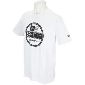 (ニューエラ) NEW ERA Tシャツ VISOR STICKER BASIC ホワイト L