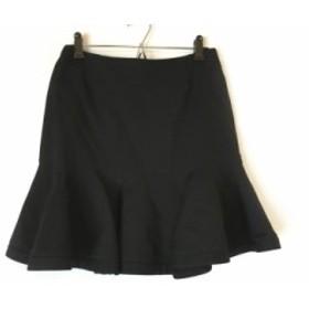 ニジュウサンク 23区 スカート サイズ38 M レディース 黒【中古】