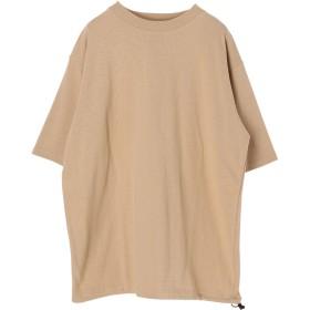 【5,000円以上お買物で送料無料】mens ヘビーウェイトコットン裾ドローコードTEE