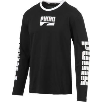 【プーマ公式通販】 プーマ REBEL ボールド LS Tシャツ 長袖 メンズ Puma Black  PUMA.com