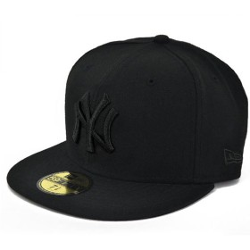 NEW ERA ニューエラ NEWERA CAP YANKEES(MLB)ALL BLACK 11121633 ニューエラ キャップ ヤンキース オールブラック (7(55.8cm))