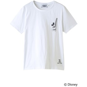 INSHORE インショア 【UNISEX】【SURF MICKEY】Tシャツ BORN TO SURF WHITE