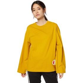 [チャンピオン] ロングスリーブTシャツ CW-Q402 レディース マスタード 日本 M (日本サイズM相当)