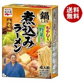 【送料無料】永谷園 煮込みラーメン みそ味 4人前×6箱入