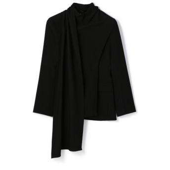 FILL THE BILL / ストールデザインジャケット《ESTNATION EXCLUSIVE》 ブラック/1(エストネーション)◆レディース テーラードジャケット