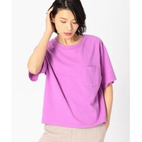 COMME CA ISM / コムサイズム DIC 日本の伝統色 ポケット付 Tシャツ