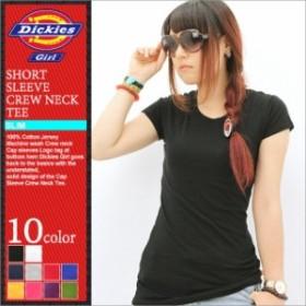 ディッキーズガール Tシャツ 半袖 クルーネック 無地 レディース JR831 大きいサイズ USAモデル Dickies Girl ディッキーズ 半袖Tシャ