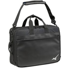 ミズノ(MIZUNO) 3WAYバッグ ブラック 33JS8104 09 ショルダーバッグ バックパック ビジネスバッグ 鞄 通勤 出張