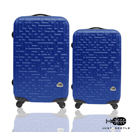 just beetle 迷宮系列abs霧面輕硬殼28吋+24吋 超值兩件組 行李箱 旅行箱