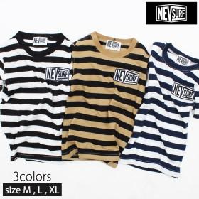 ≪最終処分価格≫ 【メール便 送料無料】 メンズ NEV ボーダーTシャツ 半袖Tシャツ】「N29-105」