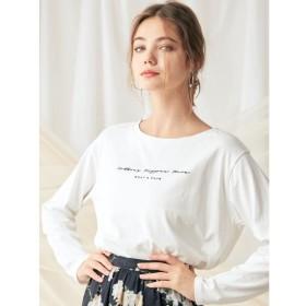 【マーキュリーデュオ/MERCURYDUO】 ロゴロングスリーブTシャツ