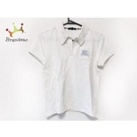 バーバリーロンドン Burberry LONDON 半袖ポロシャツ サイズ1 S レディース 白 新着 20190827
