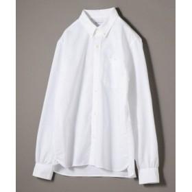 (SHIPS/シップス)SHIPS JET BLUE: THERMOLITE オックスボタンダウンシャツ/メンズ ホワイト