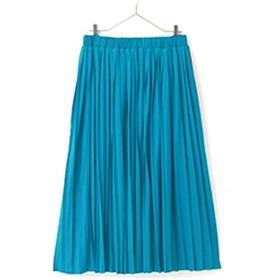 [マルイ] さらりと裏地の華奢魅せ美人プリーツカットソーロングスカート/ハッピーマリリン(大きいサイズ)(AHAPPYMARILYN)