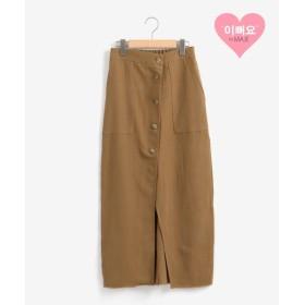[マルイ]【セール】前ボタンIラインスカート/マジェスティックレゴン(MAJESTIC LEGON)
