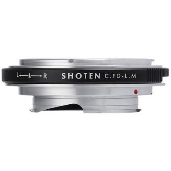 SHOTEN(ショウテン) CFD-LM マウントアダプター[レンズ側:キヤノンFDマウント ボディ側:ライカM] 《納期約1−2週間》