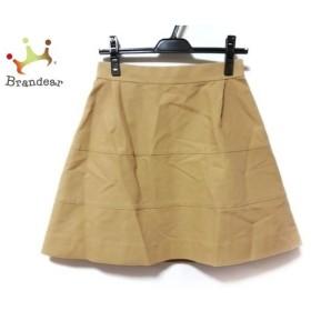 ドレステリア DRESSTERIOR スカート サイズ38 M レディース 美品 ベージュ 新着 20190827