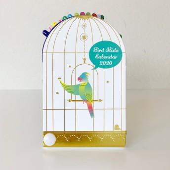 小鳥が可愛い! バードスライドカレンダー2020