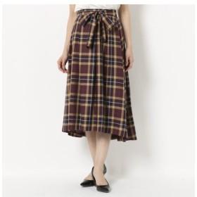 (Rose Tiara/ローズティアラ)【 WEB限定有 】 ビックチェックフィッシュテールスカート/レディース バイオレット