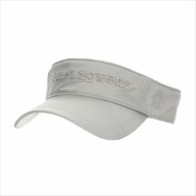 Munsingwear (マンシングウェア) レディス シャイニーサンバイザー シルバー MGCMJC53 1908 ゴルフ サンバイザー