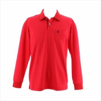 ポケット付き長袖シャツ Munsingwear (マンシングウェア) メンズ 長袖シャツ レッド MGMMJB15 1908 ゴルフ