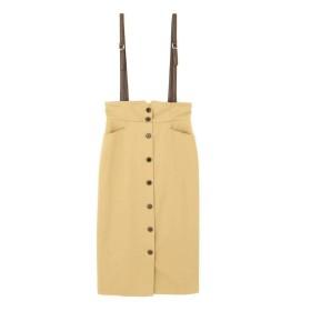 PROPORTION BODY DRESSING サスペンダー付きワークタイトスカート