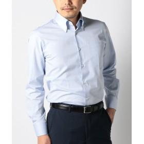 シップス SD: オックスフォード ソリッド ボタンダウンシャツ メンズ ライトブルー 41 【SHIPS】