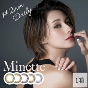 Minette ミネット 1箱 (1箱10枚入り / ワンデー)