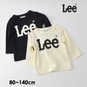 リー 9184483-14M ロゴ長袖Tシャツ キッズ ベビー トップス ロンT カットソー シンプル 男の子 女の子 子供服 Lee 4021408