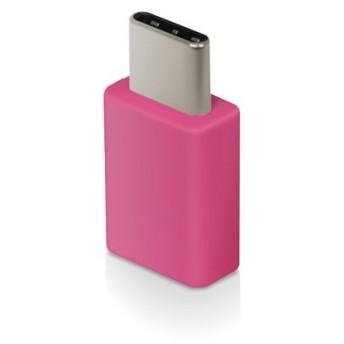 エレコム ELECOM USB Type-C変換アダプタ Type-C‐micro-B USB2.0 ピンク MPA-MBFCMADNPN