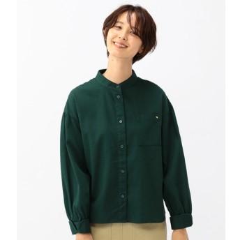 [マルイ]【セール】コットンピケ素材バンドカラーデザインシャツ/アーノルドパーマー タイムレス(レディース)(arnold palmer timeless)