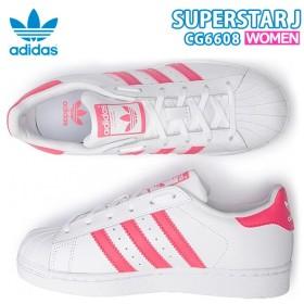adidas Superstar J アディダス スーパースター J レディース スニーカー アディダスオリジナルス ピンク CG6608 【ads114】