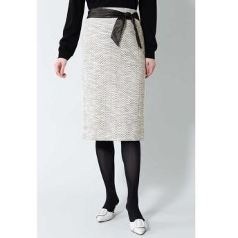 BOSCH / ボッシュ 《B ability》ヘリンボーンジャージセットアップスカート