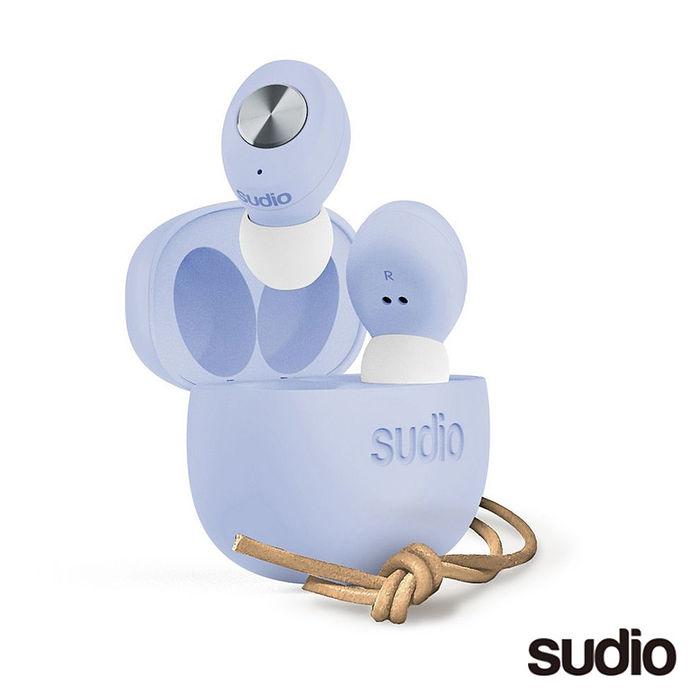 SUDIO TOLV 真無線藍牙耳機-粉藍色