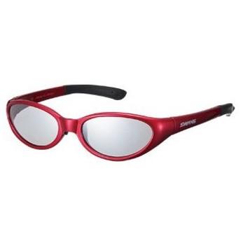 スワンズ Kids Glasses KG1-0702 TI×R(492) シルバーミラー×ライトスモーク