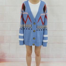 ニット・セーター - luby AW新作 秋冬物 長袖ニットカーディガン ニットセーター 韓国ファッション